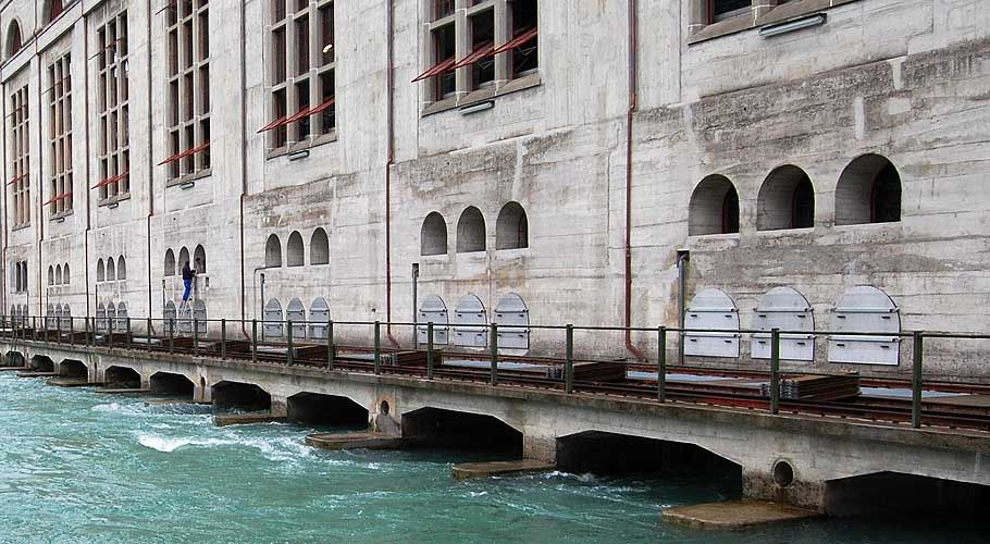 Mühleberg hydroelectric power station, Switzerland